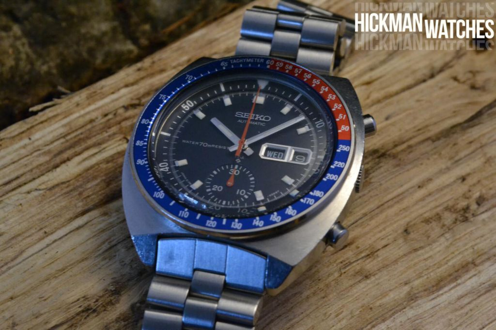 SEIKO 6139-6002 blue resist 1
